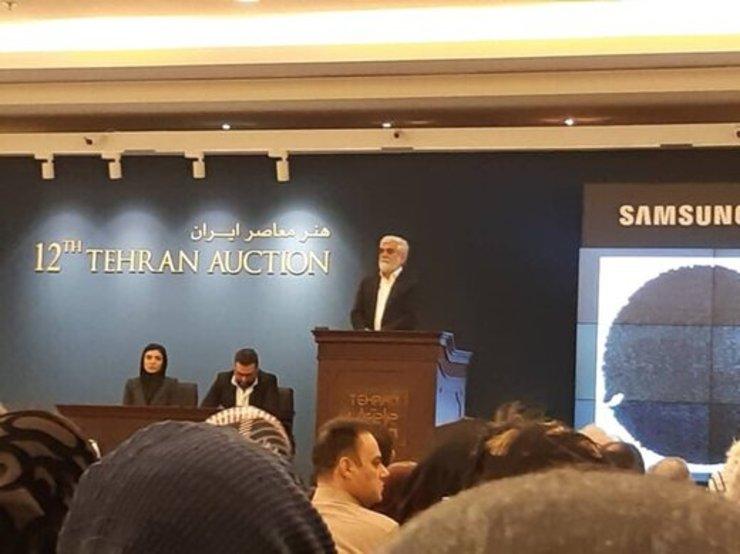 تابلویی که در تهران ۳ میلیارد تومان فروخته شد+عکس