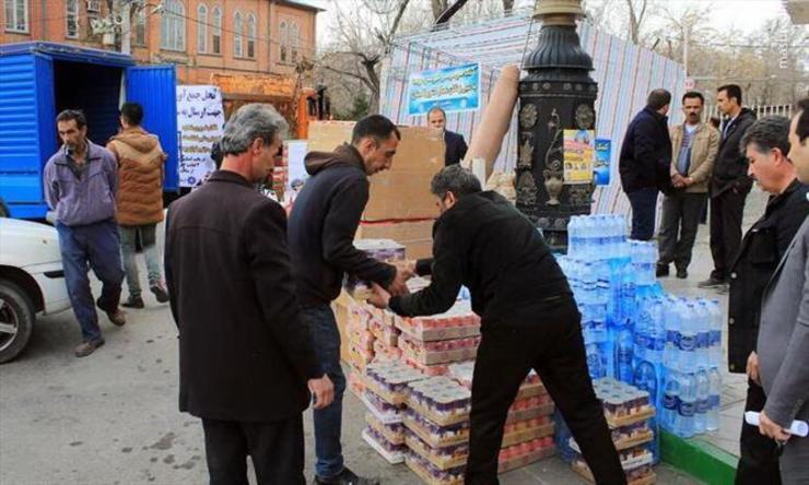 موج مهربانی مردم مشهد به دیار رستم
