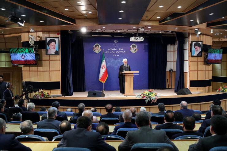روحانی: بعضیها از کلمه «رفراندوم» خوششان نمیآید/ پایه اصلی نظام ما رفراندوم است+ ویدئو