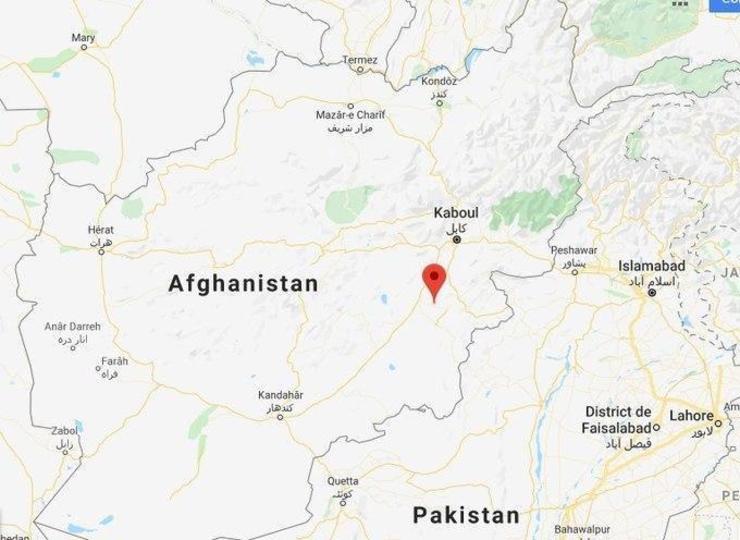 سقوط هواپیمای مسافربری در افغانستان + فیلم