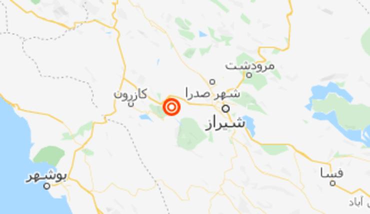 زلزله ۵.۱ ریشتری باز هم در شیراز