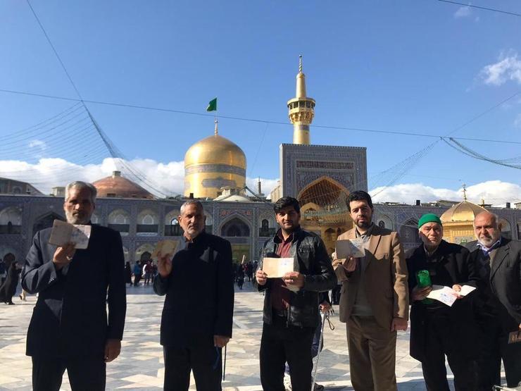 گزارش لحظه به لحظه انتخابات در مشهد