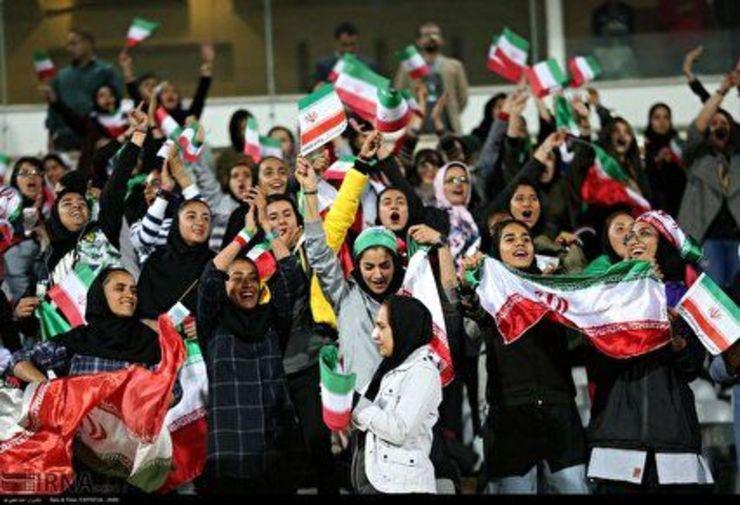 بانوان ایرانی در سریعترین زمان به ورزشگاه میروند