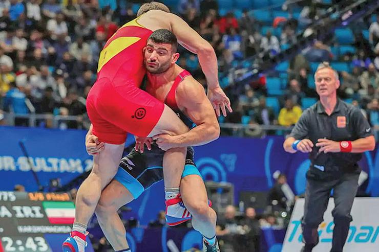 علیرضا کریمی اولین فینالیست ایران در رقابتهای کشتی آزاد قهرمانی جهان