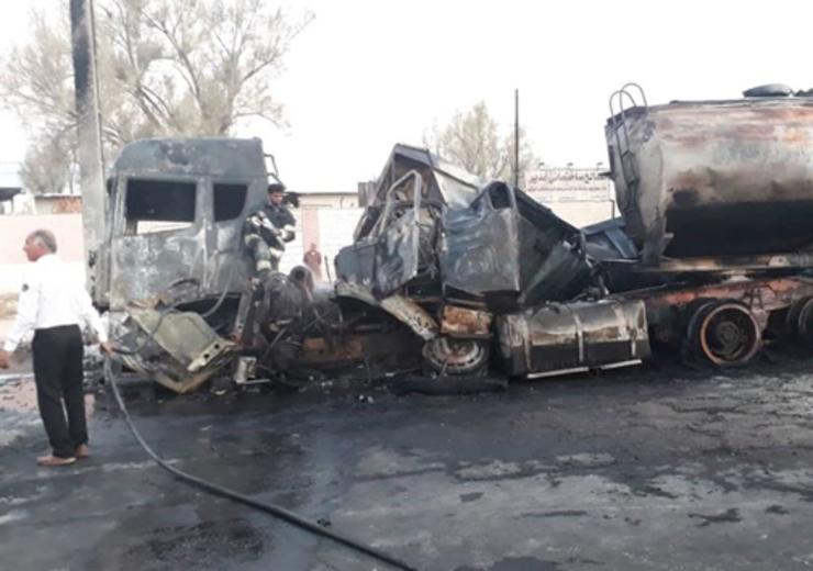 ۱۲ کشته و ۱۷ مصدوم در تصادف مینیبوس و تریلی در گلستان+فیلم