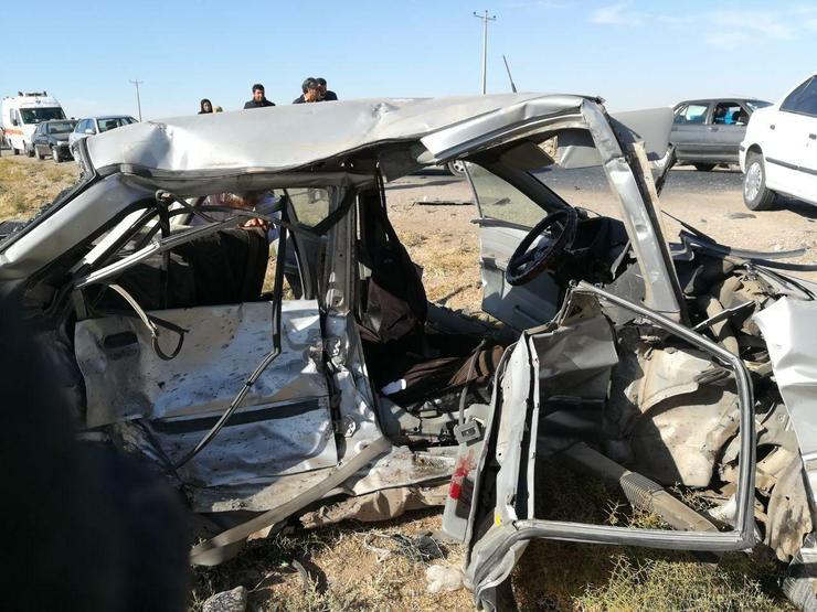 یک کشته در تصادف ۳ خودرو در نیشابور