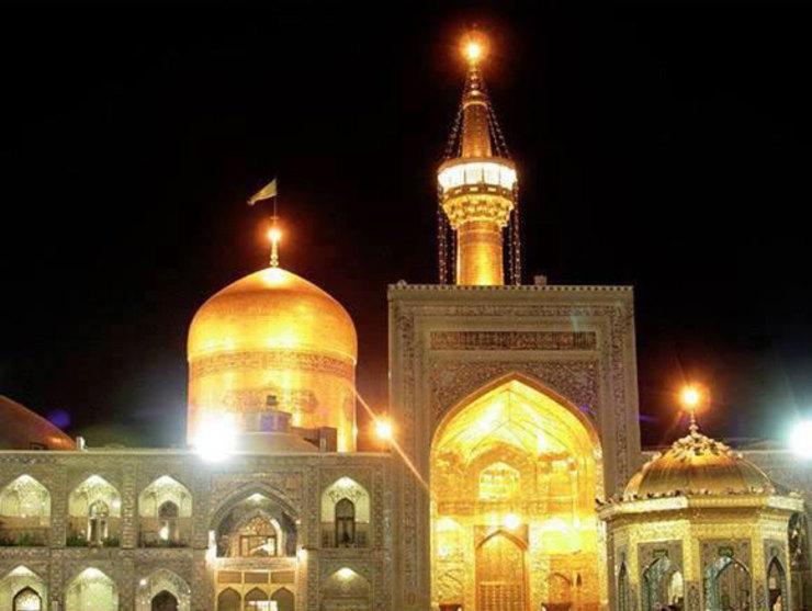 پخش زنده صلوات خاصه امام رضا(ع)، زیارت امینالله و تصاویر زنده از حرم رضوی + لینک