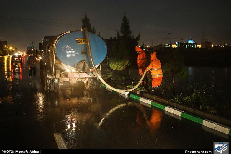 آمادهباش شهرداری مشهد در پی بارشهای پیشرو