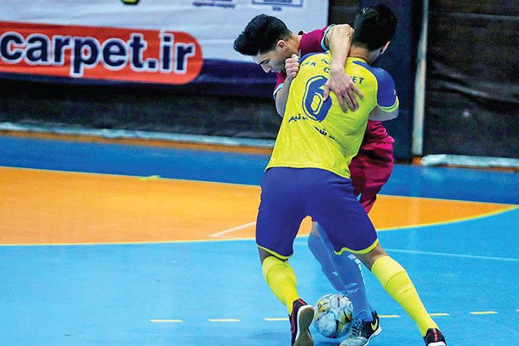 توقف فرشآرا در مشهد| تساوی سخت برابر تیم آسان!