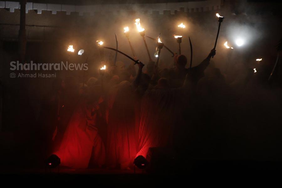 گزارشی از سوگواره «نگین شکسته»، تنها نمایشی که این شبها در مشهد اجرا میشود