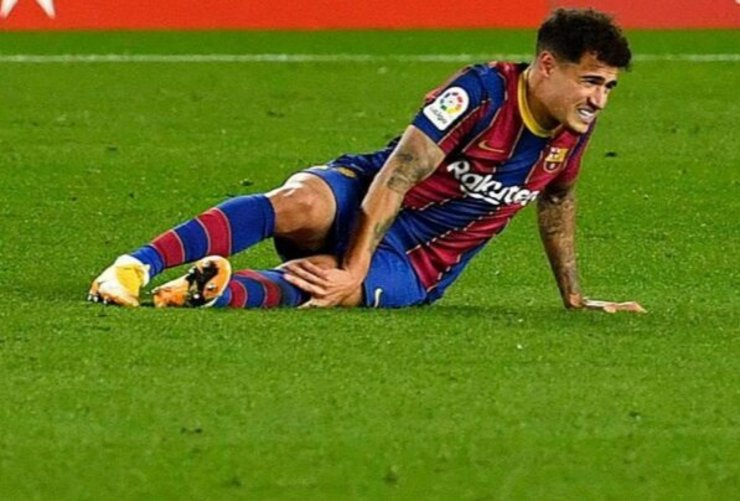 خبر بد برای بارسلونا| زمان بازگشت کوتینیو مشخص شد