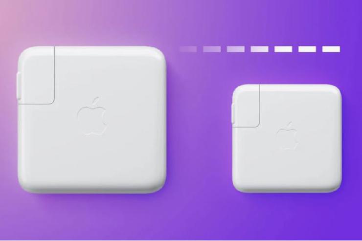 تلاش اپل برای تولید شارژر کوچکتر و کارآمدتر نیترید گالیوم