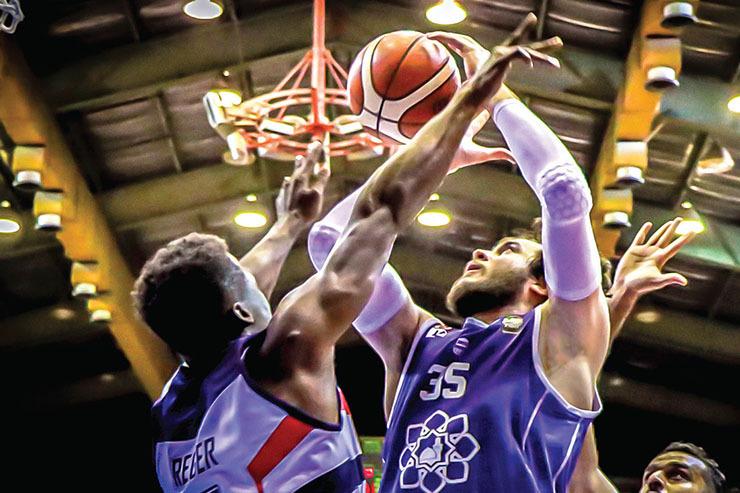 شکستی دیگر برای بسکتبالیستهای آویژه صنعت مشهد| معضل شوت!