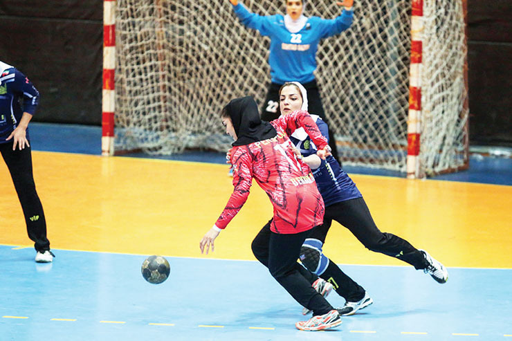اعلام برنامه لیگ برتر هندبال بانوان  دوئل اشتادسازه و شاملی در شیراز