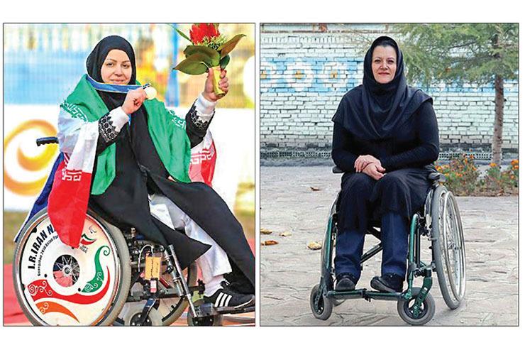 رونمایی از سردیسهای «عاکف» و «شیرمحمدی» همزمان با تاسیس کمیته ملی پارالمپیک