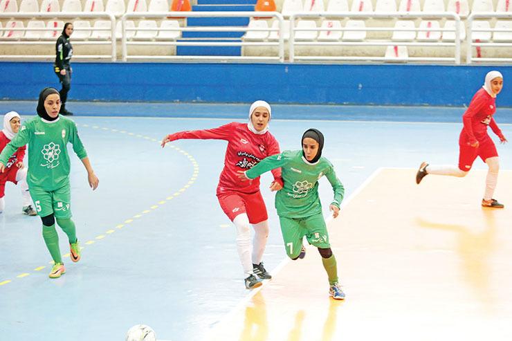 ادامه رقابت های لیگ برتر فوتسال بانوان  یک دیدار تدارکاتی دیگر برای مشهدیها