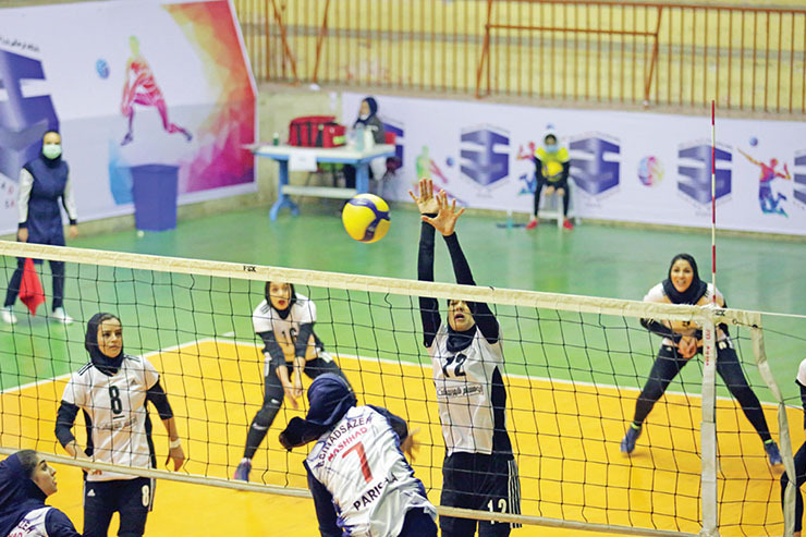 غوغای والیبالیستهای مشهدی در لیگ یک
