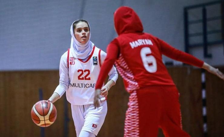 حشمتی نخستین کوادروپل تاریخ بسکتبال زنان ایران