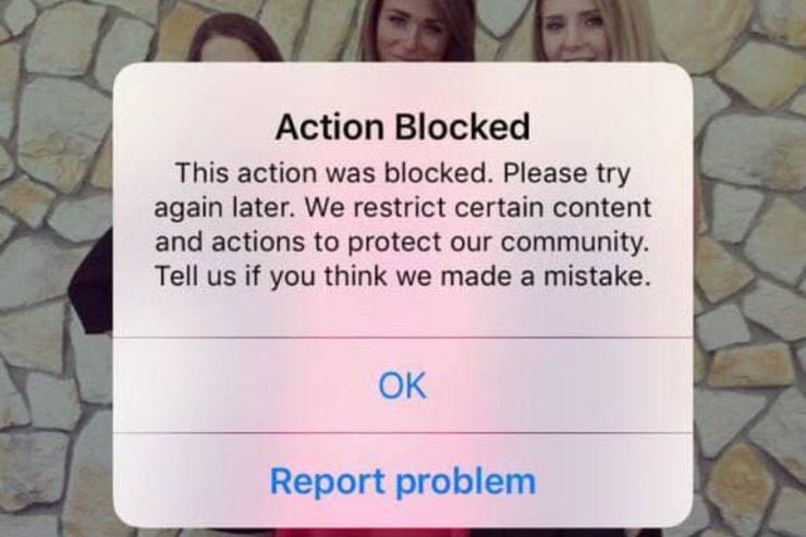 چه کار کنیم که اینستاگرام ما را بلاک نکند + عکس و آموزش