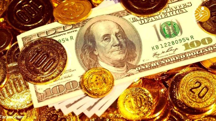 آخرین قیمت طلای ۱۸ عیار، سکه و دلار در ۹ خرداد