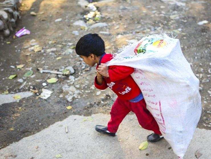 اجتماعی/ ۶۰ درصد کودکان کار در مشهد اتباع خارجی هستند