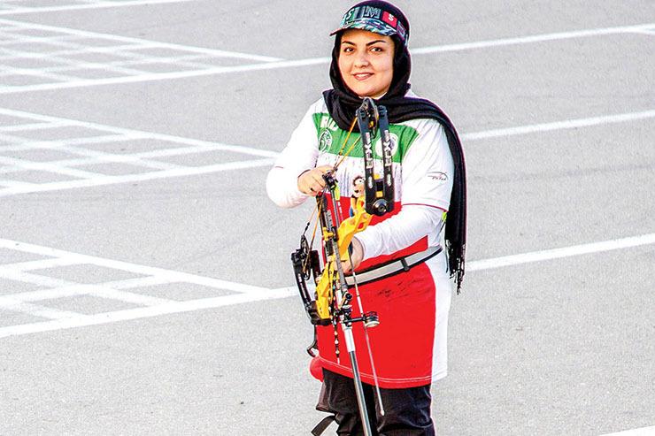 سیده ویدا حلیمیان، کمانداری در مسیر افتخار آفرینی