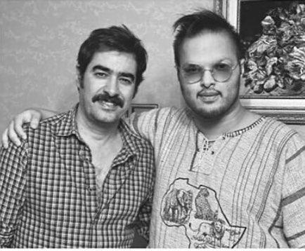 شهاب حسینی با ظاهری متفاوت درکنار پسر بزرگش