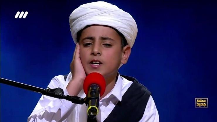 اجرای کامل مبین درپور، خواننده تربت جامی، در مرحله دوم عصر جدید+فیلم