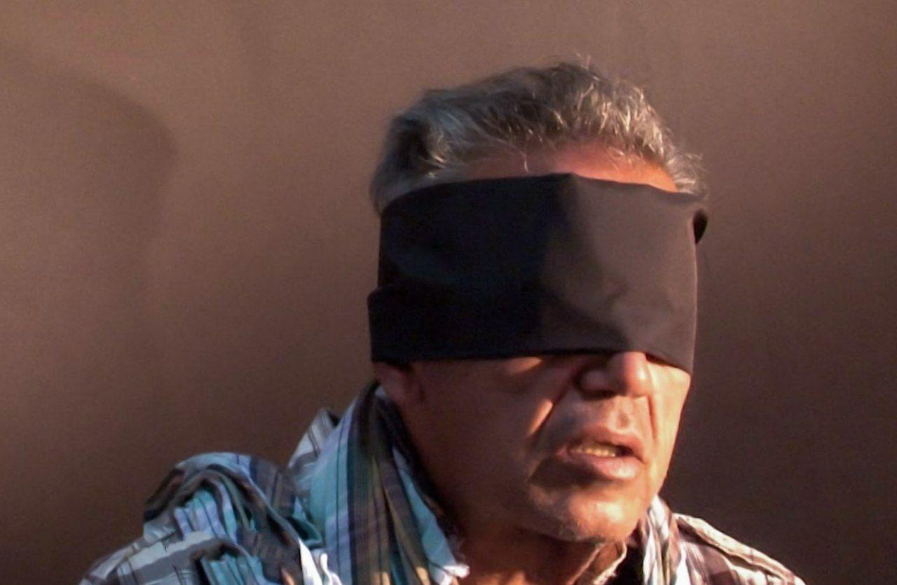 تصویر جمشید شارمهد پس از دستگیری