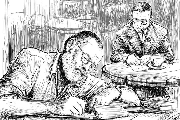 آیا عصر نویسندگی در کافهها به پایان رسیده است؟