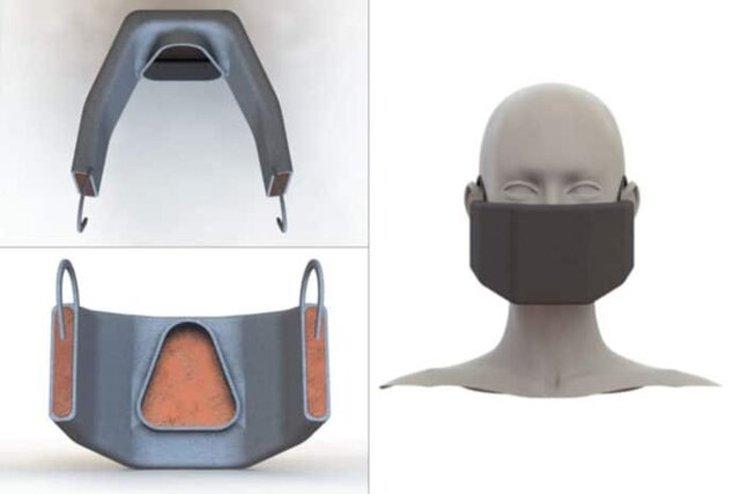 """ماسکی که با ایجاد گرما """"ویروس کرونا"""" را غیرفعال میکند"""