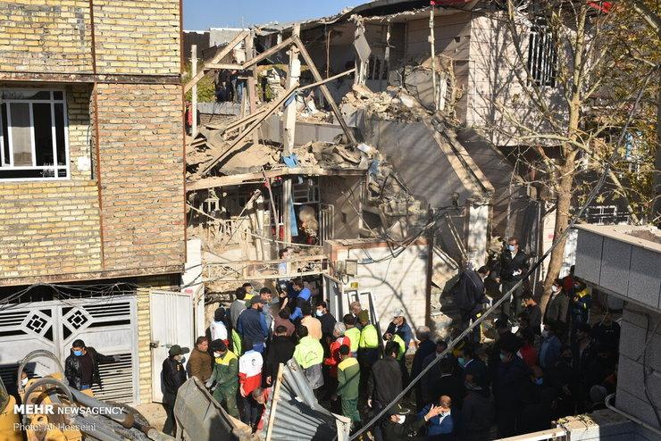 انفجار وحشتناک منزل مسکونی در خرم آباد + فیلم و تصاویر