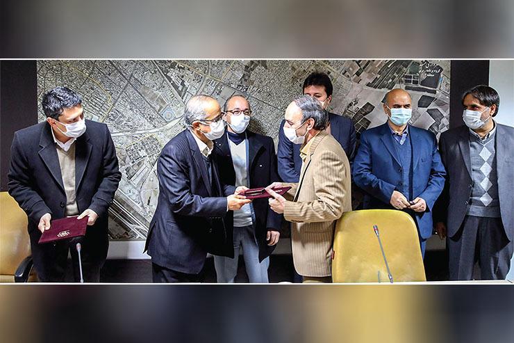 مراسم تودیع و معارفه شهردار منطقه شش با حضور رییس شورای شهر مشهد برگزار گردید