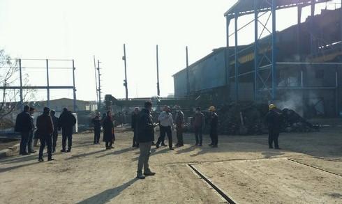 انفجار و آتش سوزی در شهرک صنعتی سلفچگان قم + فیلم و عکس