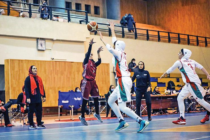 «مولتیکافه» مشهد بهدنبال دومین پیروزی لیگ برتر بسکتبال بانوان کشور