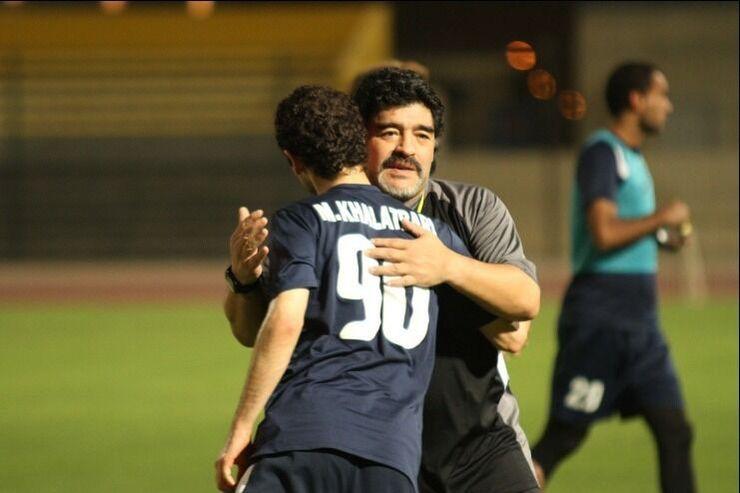 کدام فوتبالیست ایرانی شاگرد دیگو مارادونا بود؟