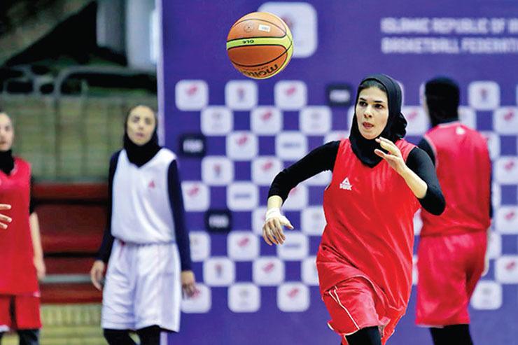 جدال دختران بسکتبالیست مشهدی با خارجیهای لیگ