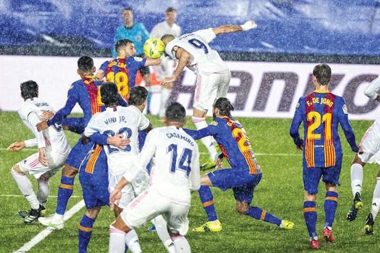 رقابت مادرید و بارسلون برای فتح جام| لالیگا در اوج