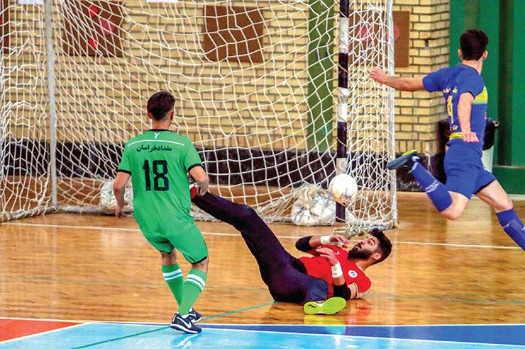 از برد چیپس تا باخت مقداد| هیاهو در لیگ دسته یک فوتسال