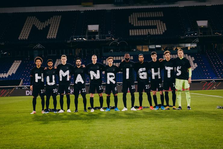 اعتراض آلمانها به کشته شدن ۶۵۰۰ کارگر در قطر برای جام جهانی