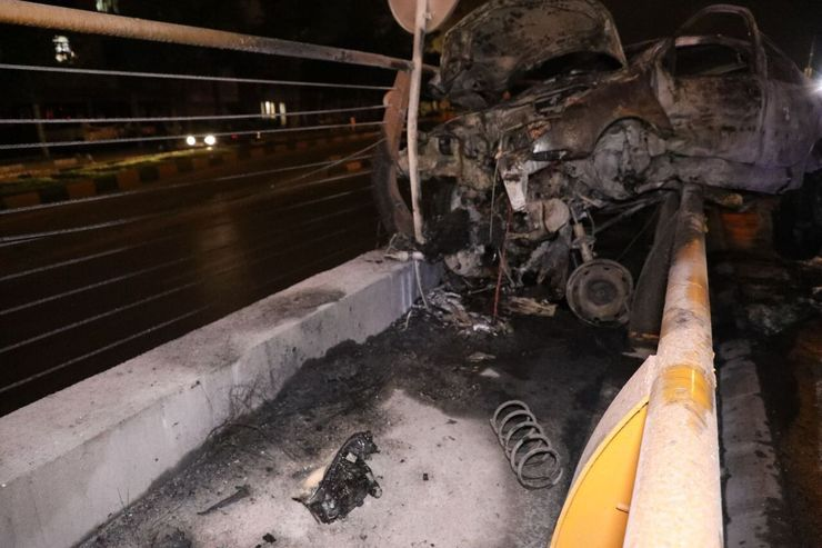 سانحه رانندگی در مشهد یک کشته برجا گذاشت