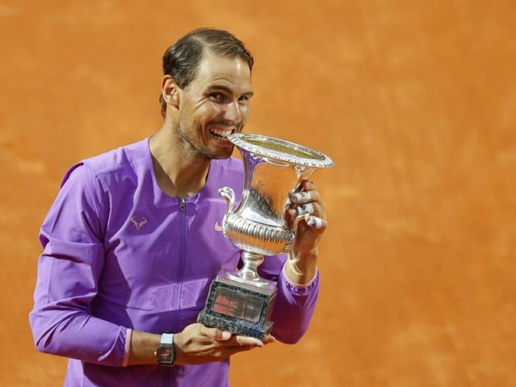 نادال پس از دهمین قهرمانی مسابقات رم: این جام برای من معنای زیادی دارد