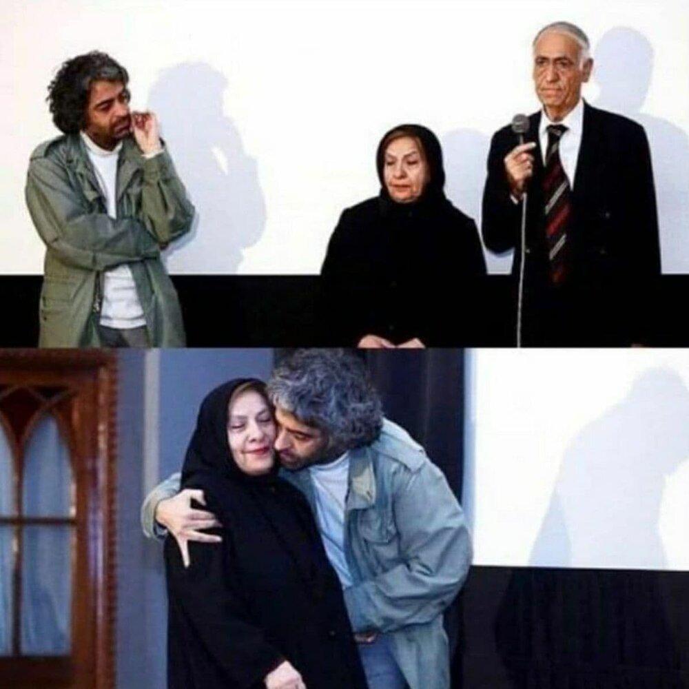 تصاویری از «بابک خرمدین» در کنار پدر و مادرش + عکس