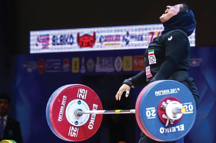 اولین تجربه دختران ایرانی در وزنهبرداری فوقسنگین
