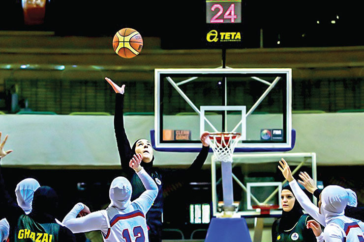گله دختران بسکتبالیست از قهرمانی خشکوخالی