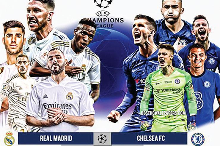 هیجان اورجینال در اروپا!| رئال مادرید و چلسی به هم رسیدند