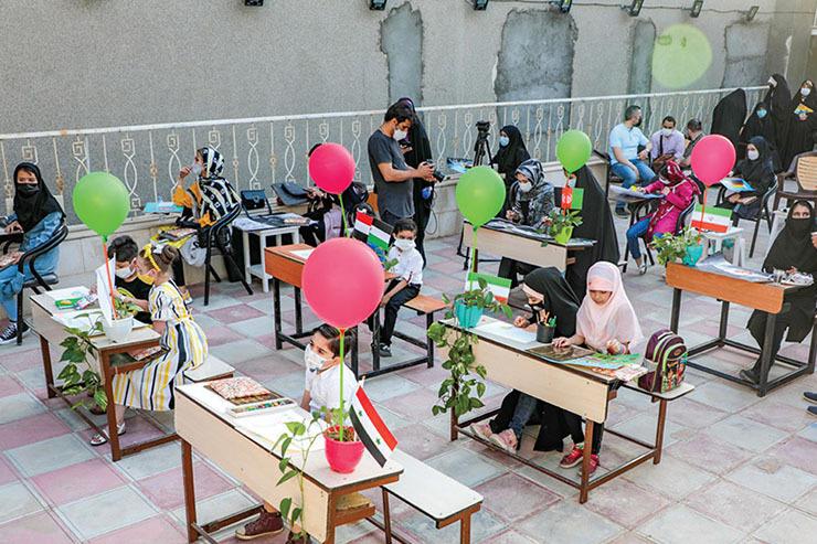 گزارشی از کارگاه نقاشی بینالمللی که حوزه هنری مشهد برگزار کرد