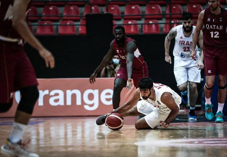 آنالیز دیدار تیم ملی بسکتبال ایران و قطر؛ یک دستگرمی آرام