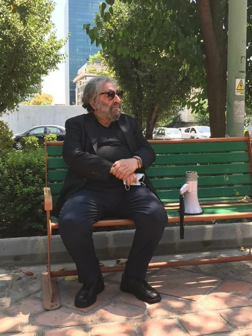 تجمع هنرمندان سینما در حمایت از مردم خوزستان + تصاویر