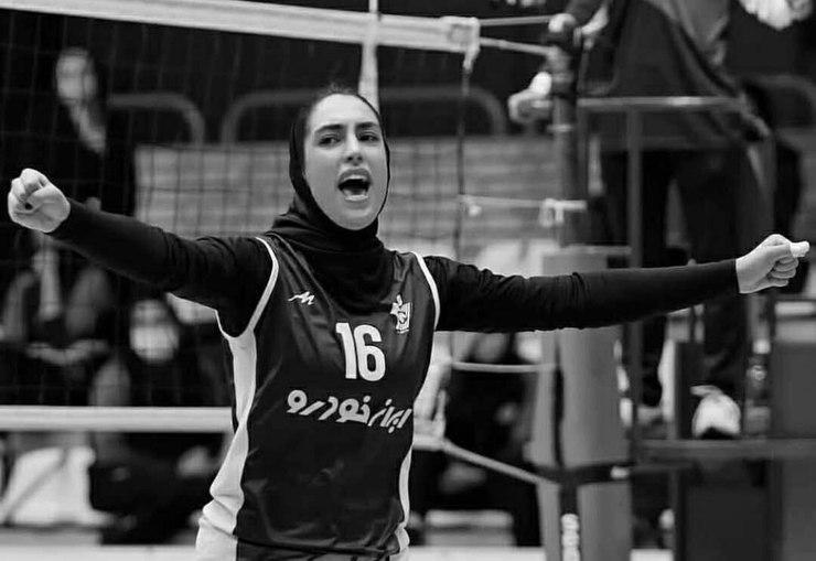 جوان ترین ملی پوش زن والیبال ایران در لیگ اسلواکی